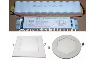 2700-6500K 1200-1300Lm Emergency LED Panel Light , led circular panel lights